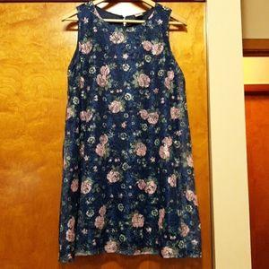 Girls plus dress